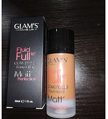 GLAMS COVERAGE FOUNDATION 30ML (ALL)