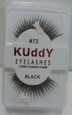 KUDDY EYELASHES HUMAN HAIR BLACK (ALL)