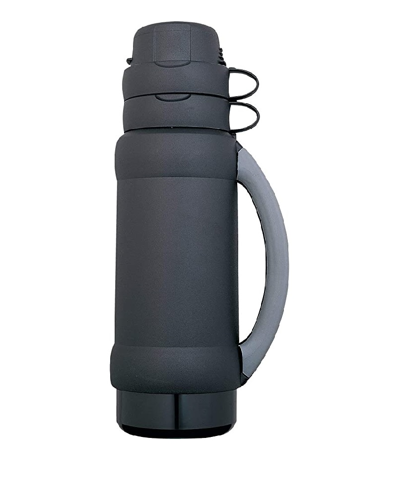 THERMOS GLASS DOUBLE INSULATEDFLASK 1.0L