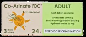 CO-ARINATE ANTIMALARIAL (ADULT)