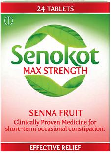 Senokot Max Strength Senna Fruit x Card