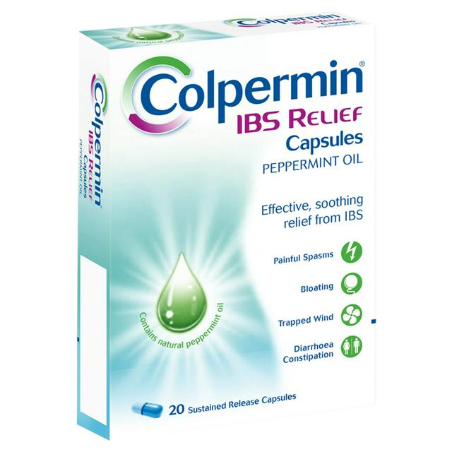 COLPERMIN IBS RELIEF CAPS. PACK