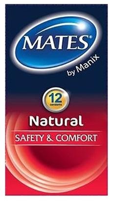 MATES NATURAL EASY FIT CONDOM X12