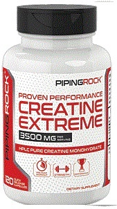 PIPINGROCK CREATINE EXTREME 120APS