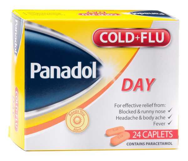 PANADOL COLD + FLU DAY X24