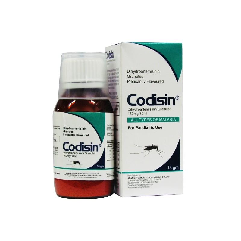 CODISIN PLUS CURATIVE ANTIMALARIAL 80ML