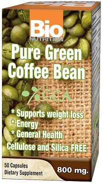 BIO NUTRITION PURE GREEN COFFEE BEAN
