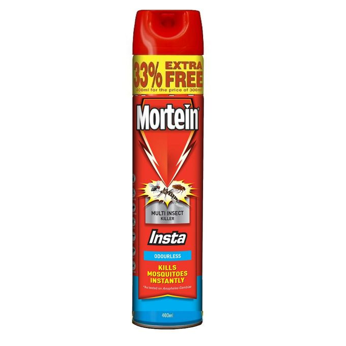MORTEIN MULTI INSECT KIL ODOURLESS 400ML