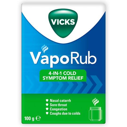 VICKS VAPORUB 4-IN-1 COLD RELIEF 100G