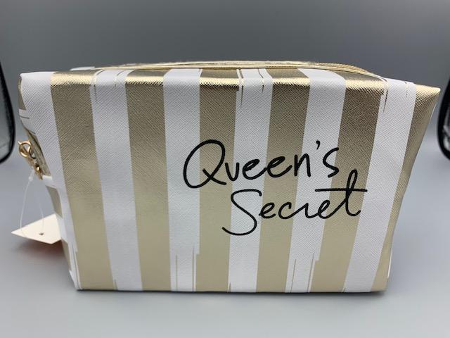 QUEENS SECRET MAKE UP BAG