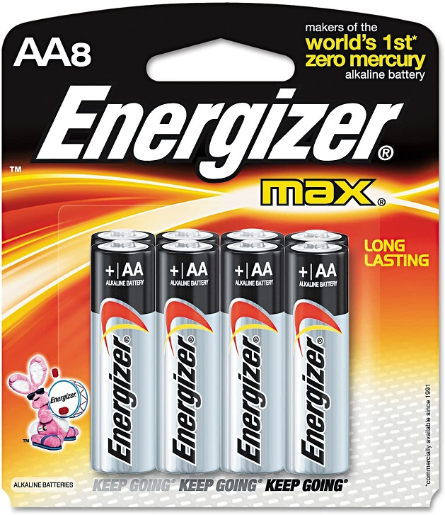 Energizer Max AA8 Battery x 8