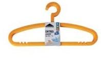 Rozenbal Cintre Plastic Hanger x3