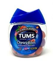 TUMS ANTACID CHEWY BITES BERRIES X32