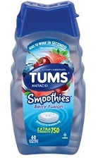 TUMS ANTACID SMOOTHIES BERRY X60