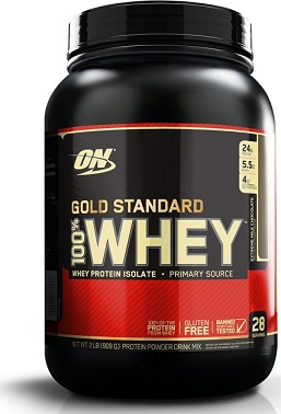 On Gold Standard 100% Whey 2LB 909 g