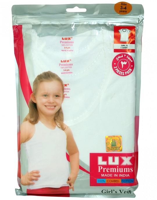 Lux Premium Girls Spaghetti 1-2years