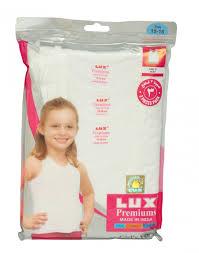 Lux Premium Girls Vest 9-10years