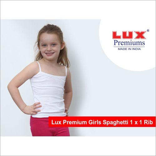 LUX PREMIUMS GIRLS SPAGHETTIE 5-6YEARS