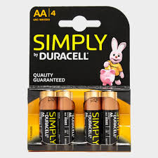 Simply Duracell Quality Battery AA MN150