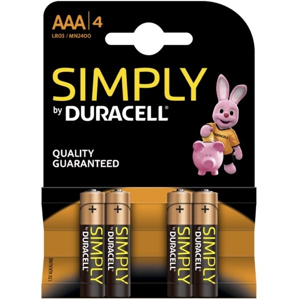 Simply Duracell Battery AAA MN2400