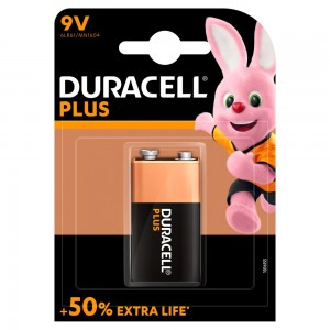 Duracell Plus +50% Extra life Battery