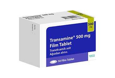 Transamine Traneksamik Asit 500mg (TEVA)