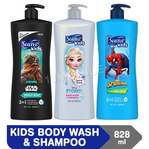 Suave Kids Shampoo + Conditioner 828ml