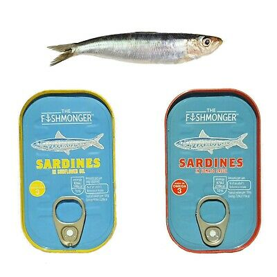 Fishmonger Sardines in Sunflower 125g