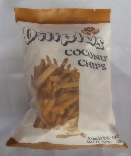 Diliplus Coconut Chips 120g