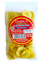 Double A Salted Unrip Plantain Chips160g