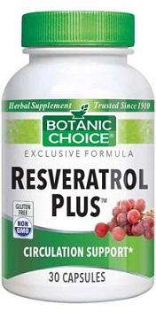 Botanic Chioce Resveratrol Plus x30 caps