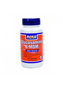 NOW GLUCOSAMINE & MSM X 60CAPS
