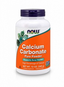 Now Calcium Carbonate Pure Powder (340g)