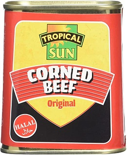 Tropical Sun Corned Beef 340g