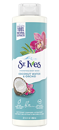 St.Ives Cocnut Water&Orch.Body Wash650ml