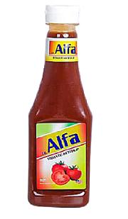 Alfa Tomato Ketchup Squeezy 340gm/ 305ml