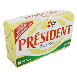 PRESIDENT SALTED BUTTER 200G Sale