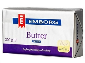 EMBORG BUTTER SALTED 200g Sale
