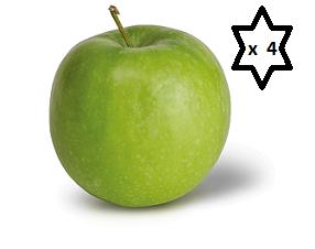 Fresh Apple Small X 4 Pack