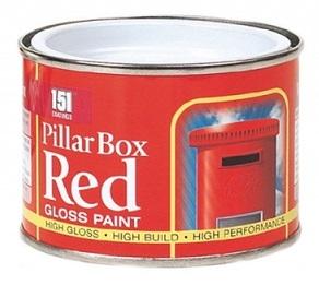 151 Pillar Box Red Gloss Paint 180ml