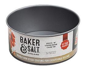 Baker&Salt Loose Base Cake Tin 20cm/8