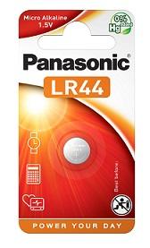Panasonic LR44 Micro Alkaline Battery