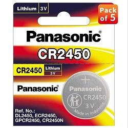 Panasonic CR2450 Lithium Coin Battery