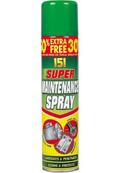 Super Maintenance Spray Oil 200ML