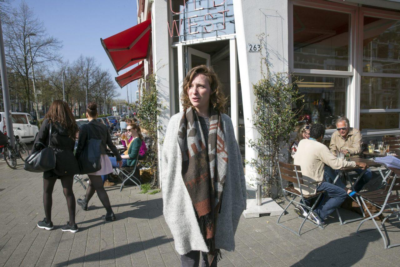 Eline Hansen in het Oude Westen