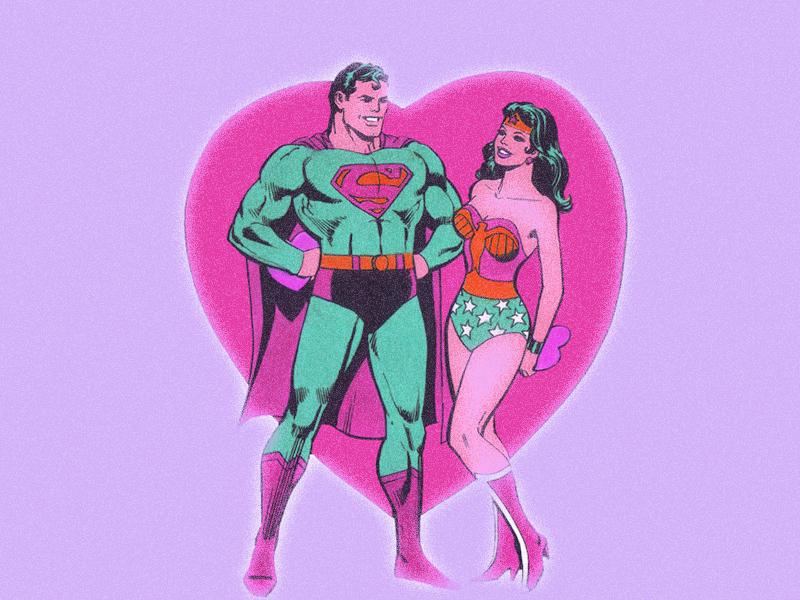 Superman liefde daten