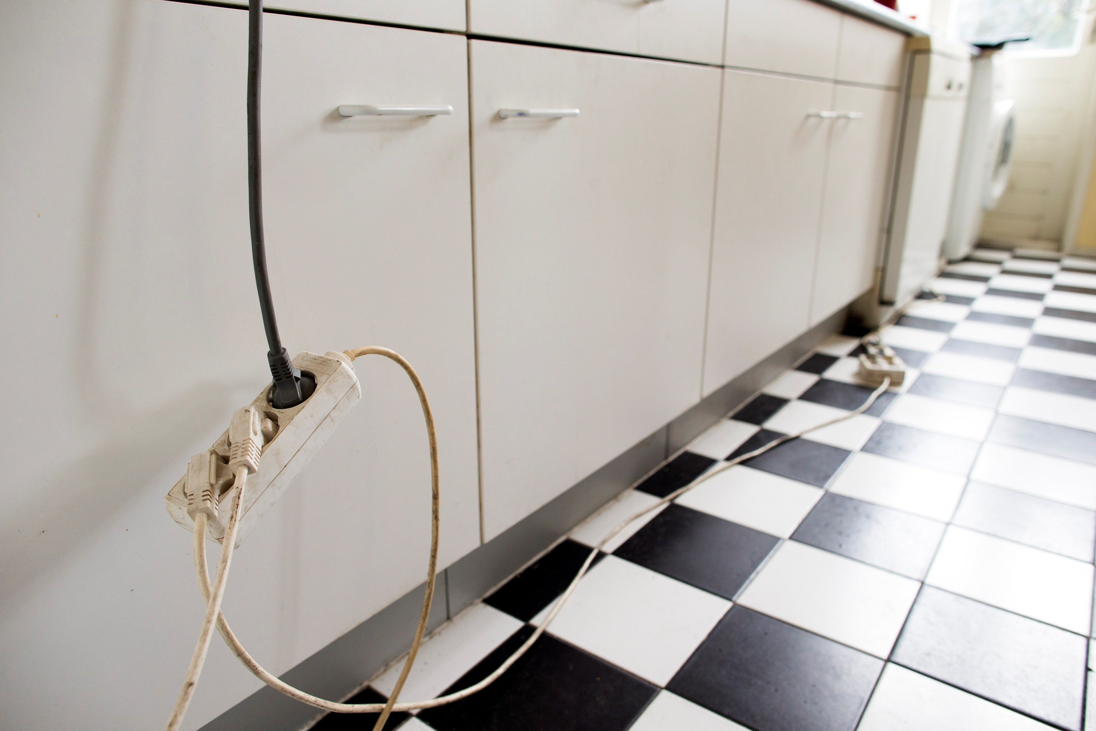 studentenhuis brandveiligheid elektriciteit verlengsnoer