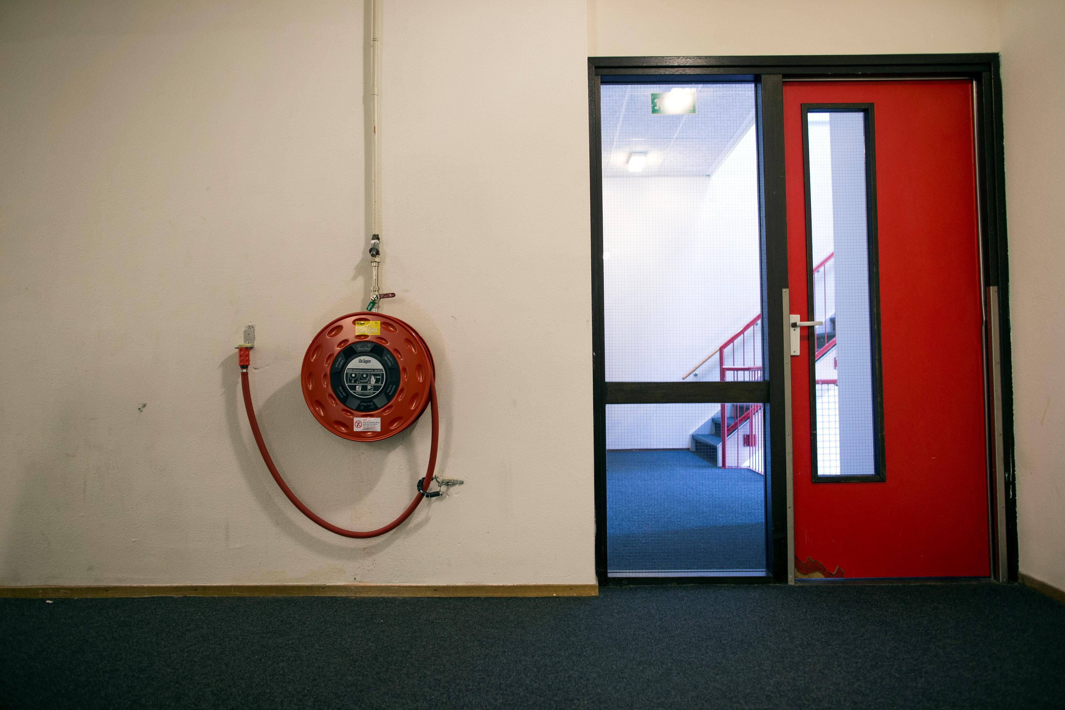 studentenhuis brandveiligheid brandslang