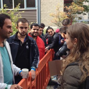 Studenten heten vluchtelingen welkom op campus