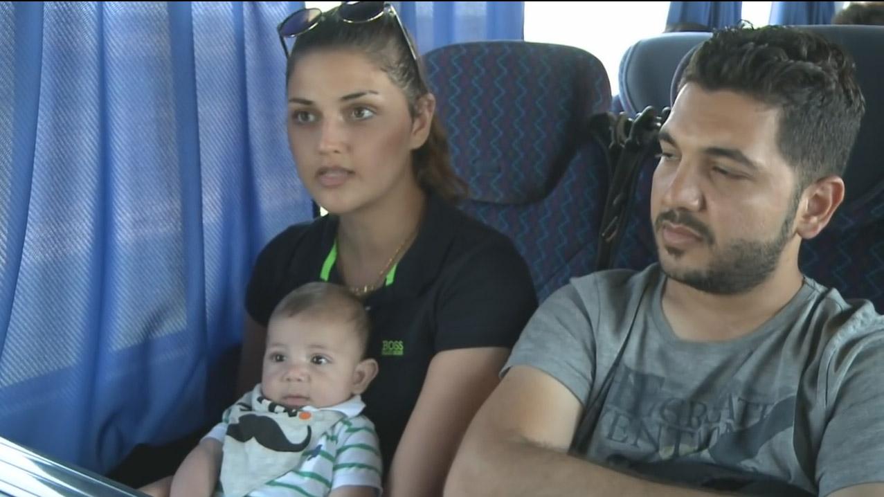 afp video vluchtelingen irak screenshot 2